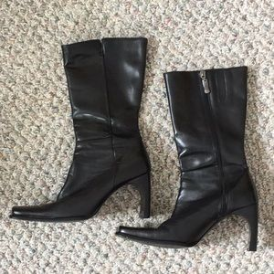 Enzo Angiolini leather boots sz 7